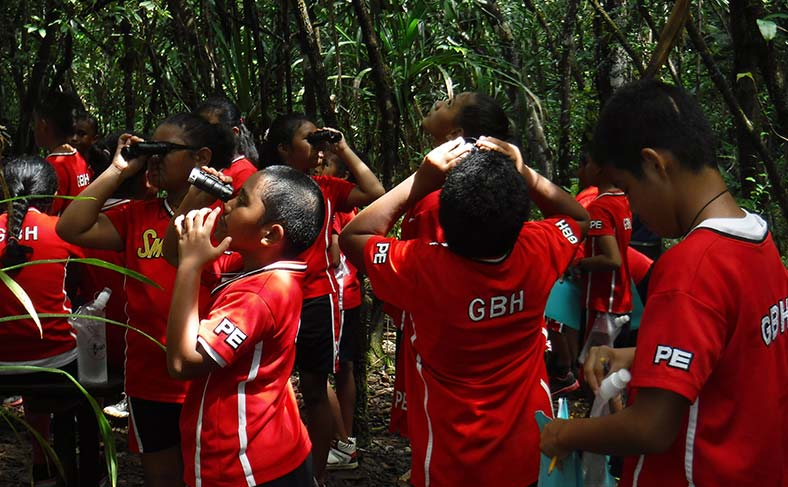 PCS inspires youth to protect Palau's watersheds