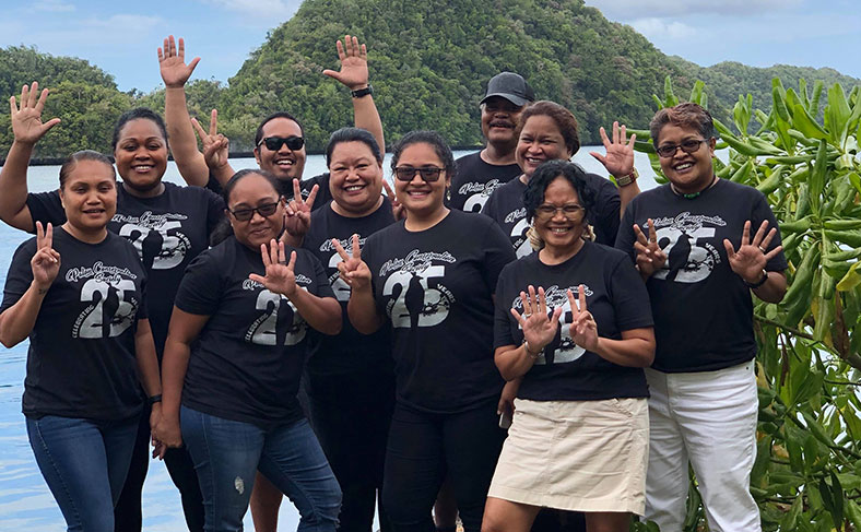 Palau Conservation Society Turns 25